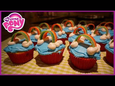 HOW TO MAKE MY LITTLE PONY CUPCAKES! 🦄
