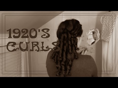1920's Ringlets with Foam Rollers (No heat method!)