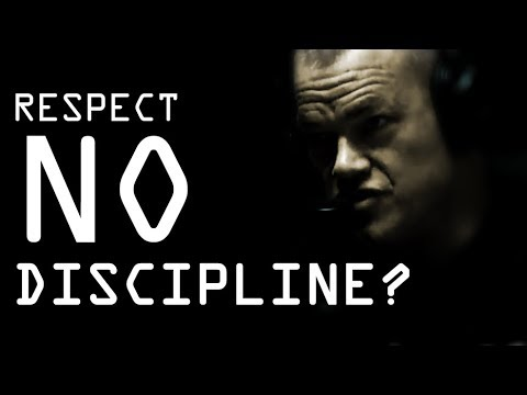 Respecting People Who Don't Have Discipline - Jocko Willink