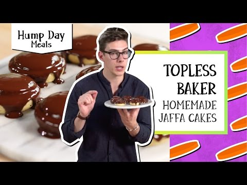 Homemade Jaffa Cakes   Hump Day Meals - Topless Baker