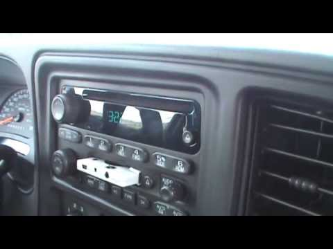 2007 Chevrolet SilveradoTapePlayer and a