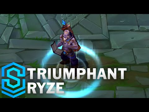 Triumphant Ryze (2016) Skin Spotlight - League of Legends