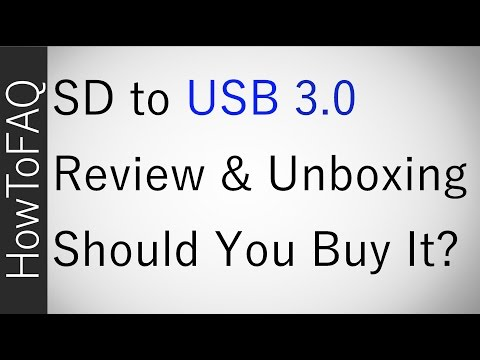 Best SD to USB 3.0 Adapter Review & Unboxing Speed Test 2017