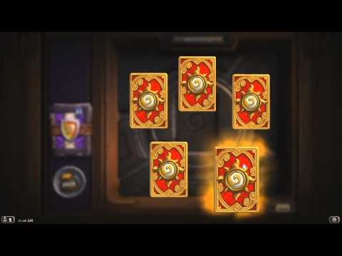 The Grand Tournament Pack Opening - 50 Hearthstone Card Packs