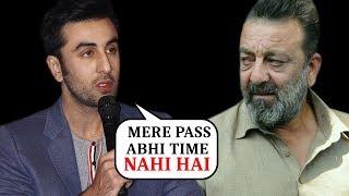 Ranbir Kapoor Has NO TIME For Sanjay Dutt   Shamshera