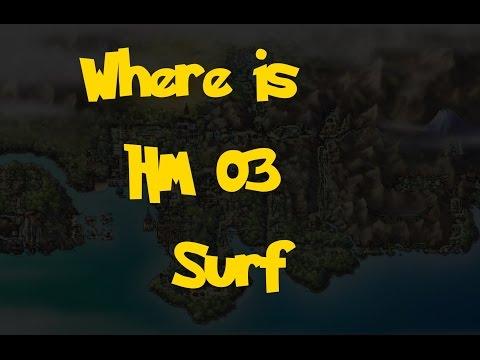 Where Is: HM 03 - Surf (Pokemon Heart Gold/Soul Silver)