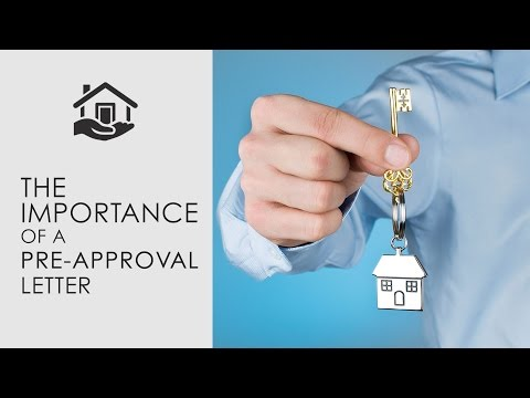 How to Buy a Home - The importance of Pre-Approval Mortgage Letter