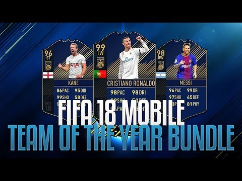 *LIVE* FIFA 18 MOBILE - TEAM OF THE YEAR BUNDLE OPENINGS