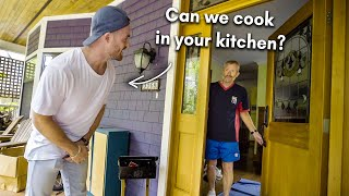 Asking Strangers To Cook Them Dinner In Their Kitchen Mp3