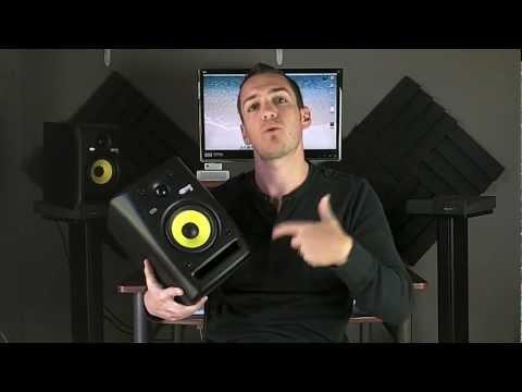 KRK Rokit 5 Studio Monitors Review - TheRecordingRevolution.com