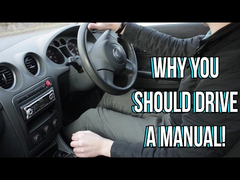 Why YOU Should Drive a Manual Car or Stick Shift