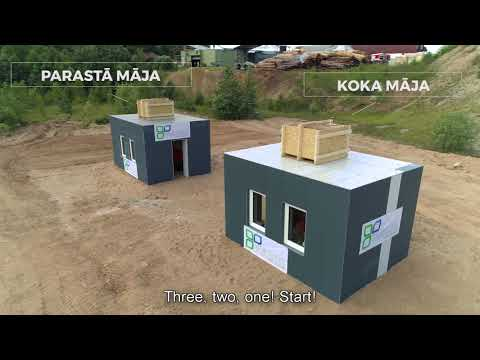 Wooden house vs concrete (with ENG subtitles)