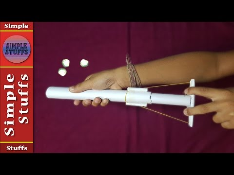 Make a Gun From Paper That Shoots Paper Bullets(round) | Simple and Easy