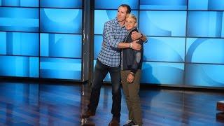 Ellen And Drew Brees Get Sporty