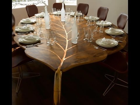 wooden dining table designs modern