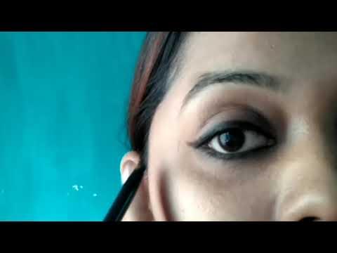 How to apply Kajal in Different ways / Create smokey eyes / eyeliner / everyday looks using kajal