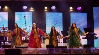 Parvaz på Eldfesten 2016 baluchisk inspirerad dans