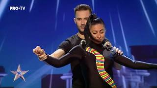 Download Un dans senzual de bachata | Raluca Burlacu&Cristian Fota - Românii au Talent Video