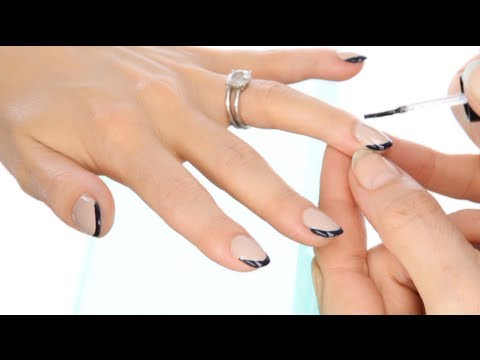 The hottest fashion look for nails this fall / winter - The New French