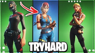 Top 10 MOST Sweaty Tryhard Skins That *PRO* Players Use in Fortnite Chapter 2 season