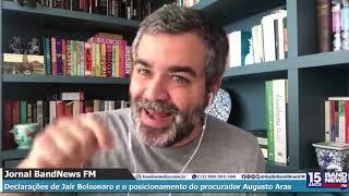 Andreazza comenta declarações de Bolsonaro sobre inquérito das fake news