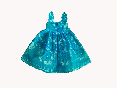 FROCK cutting SIMPLE easy PATTERN dresses for girls NEW Design Stitching VERY easy,