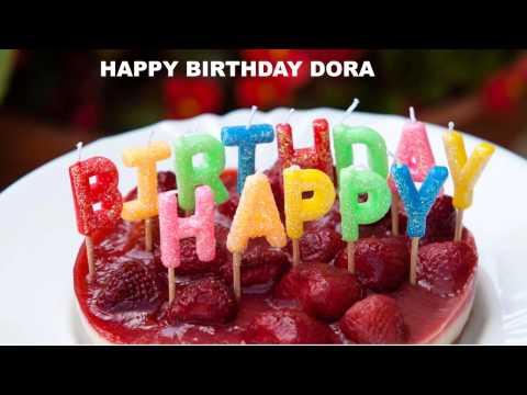 Dora - Cakes Pasteles_493 - Happy Birthday
