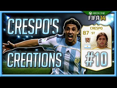 Crespo's Creations #10 - MESSI UNLOCK! FIFA 14 Ultimate Team Road To Glory!