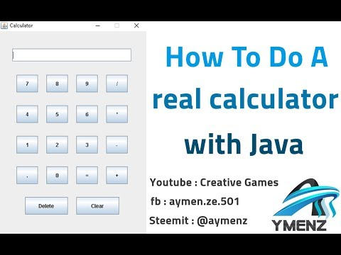 How To Build a Calculator With Java #7