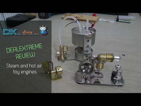 Steam and hot air engines from Dealextreme