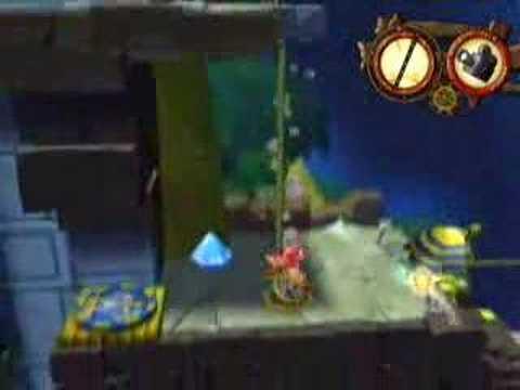 Wii Zack & Wiki 寶島Z 7-1 Treasure.Island-Barbaros's Land