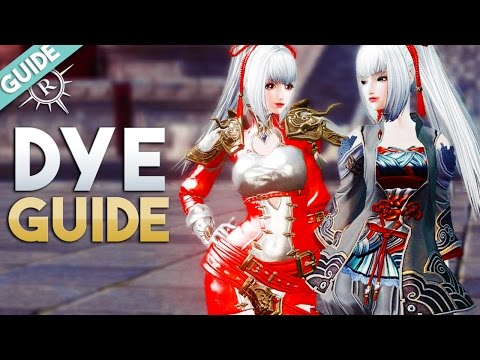 Revelation Online | Fashion Dyes Guide (Locations, NPCs, Boutique Points from Costumes & Mounts) 🎨