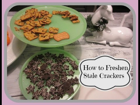 How To Freshen Stale Crackers - aSimplySimpleLife