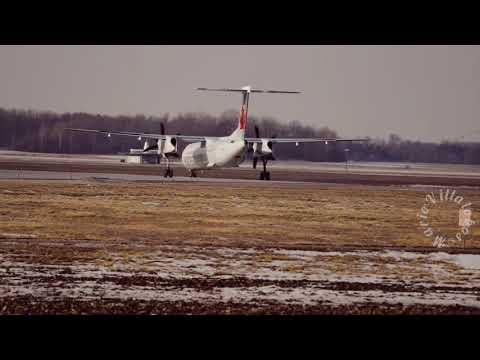 Air Canada's Dash8 at London International Airport