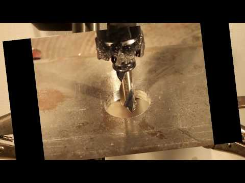 How to drill hardened Steel