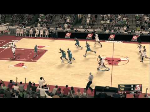 NBA 2k12 Gameplay Legends Mode - Michael Jordan Chicago Bulls HD
