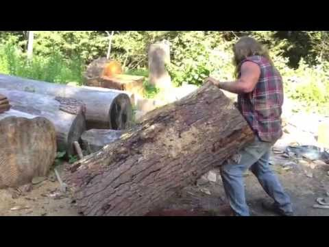 Organic Weights: Dead Lifting 400+ Pound Tree