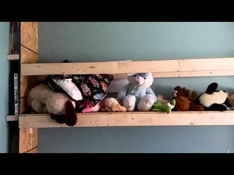 Cheap DIY Murphy bed