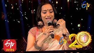 Kalpana Performs - Aanati Neeyara Hara Song in ETV @ 20 Years Celebrations - 16th August 2015