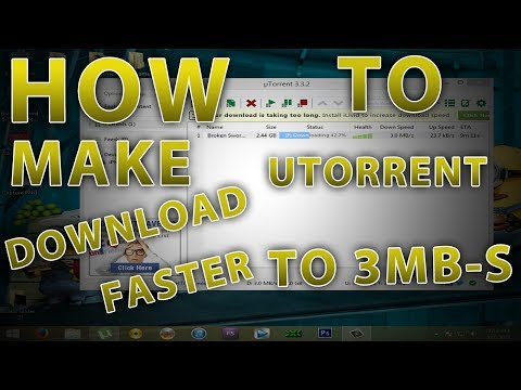 *2MB-S* how to make utorrent 3.4.2 faster