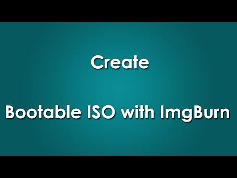 Make Windows 8 (8.1) Bootable ISO with ImgBurn