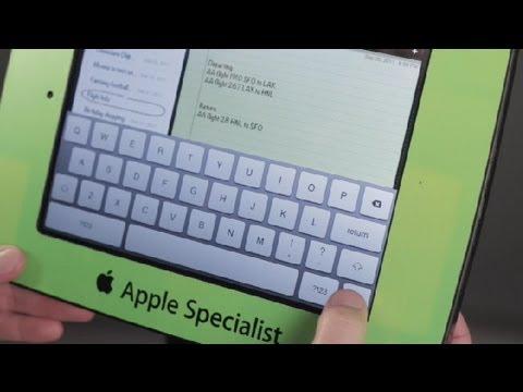 Accessing an iPad Virtual Keyboard : iPad Tips