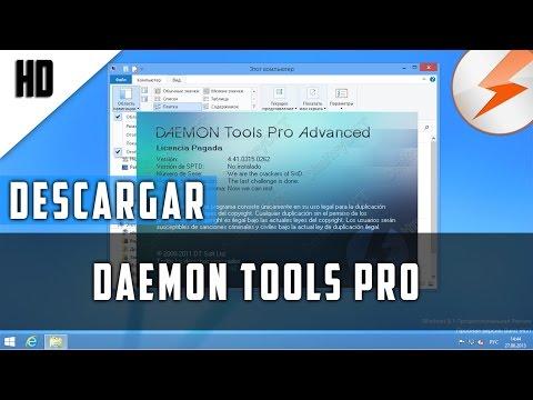DESCARGAR DAEMON Tools Pro Advanced FULL | 2015 | HD