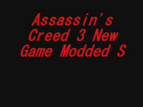 Xbox 360 Assassin's Creed 3 Modded New Game Save