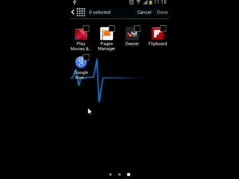 How easily hide or unhide apps on Samsung Galaxy S4 mini - Android Jelly Bean & KitKat
