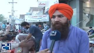 Sikh and Christian Community arranged iftar for muslims in Peshawar