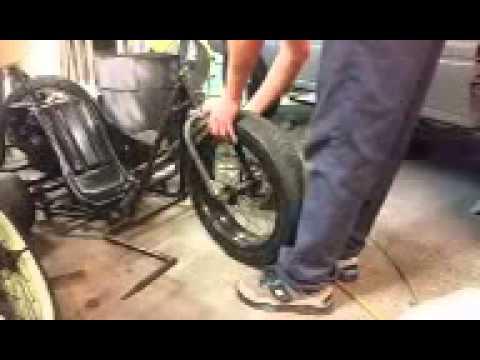 Drift Trike Tire Installation