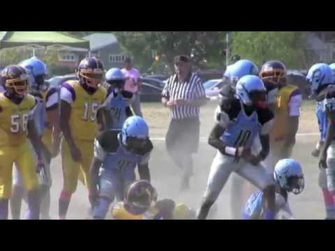 MD Youth Football Highlights: Duke Grant 100 Top Plays Volume 4