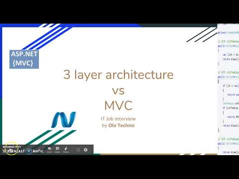 [ASP.NET MVC] 3 layer architecture vs MVC