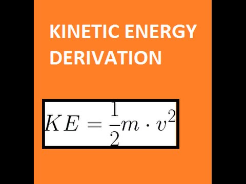 Derivation of Kinetic Energy Equation